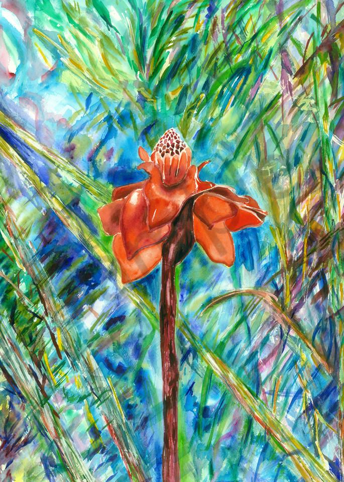 Forest Flame Art | Marisela Bracho