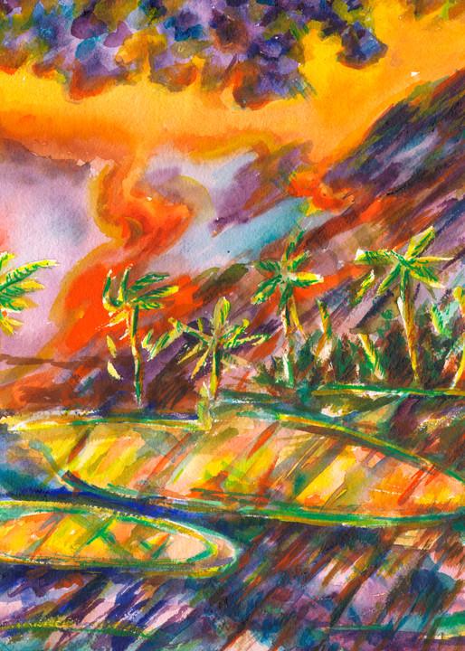 Palm Dunes Art | Marisela Bracho