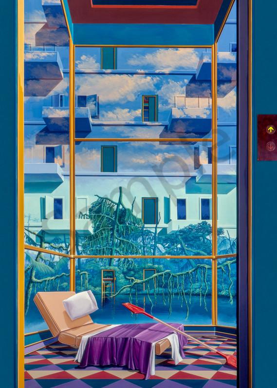 Psychic Elevato Art | Moshe Volcovich