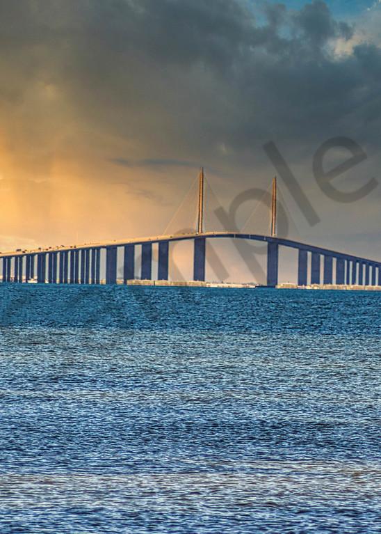 Sunshine Skyway Bridge Photography Art | It's Your World - Enjoy!