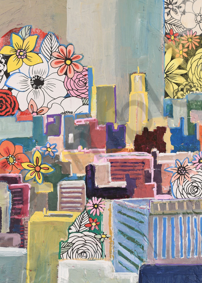 Blooming city for sale