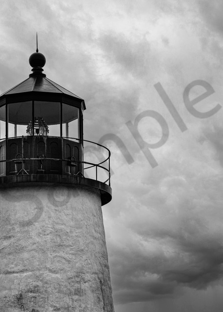 Stormy Day at Pemaquid Point