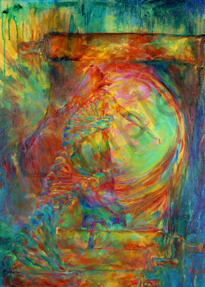 """Identity Revelation - Shift Into Destiny"" by California Artist Mary Crawford | Prophetics Gallery"