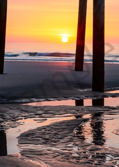 Daybreak under the Pier Photograph