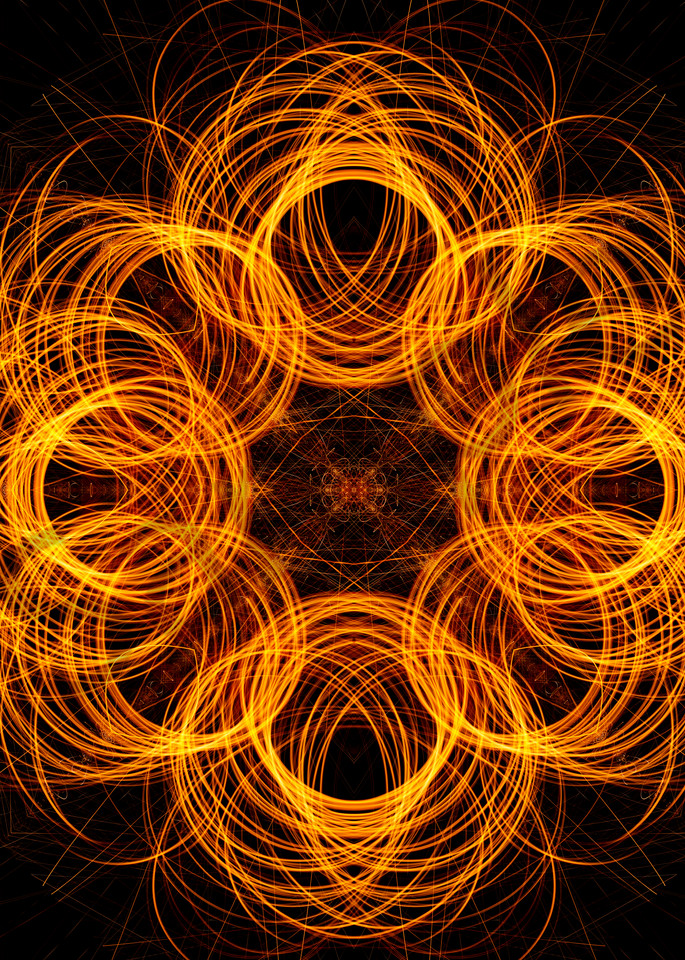 Rings of Fire Photograph