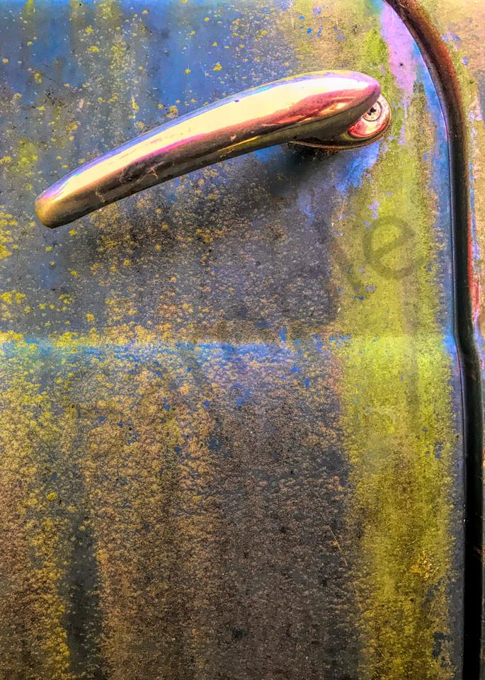 Truck Door Handle|Fine Art Photography by ToddBreitlingArt.com