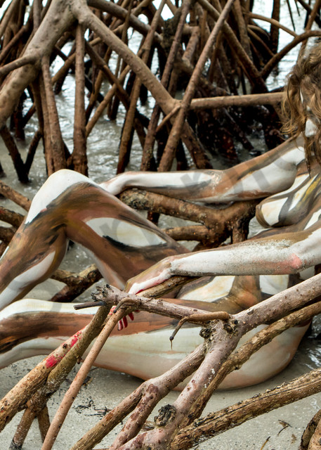 'mangrove Roots' 2013, Fl Art | BODYPAINTOGRAPHY