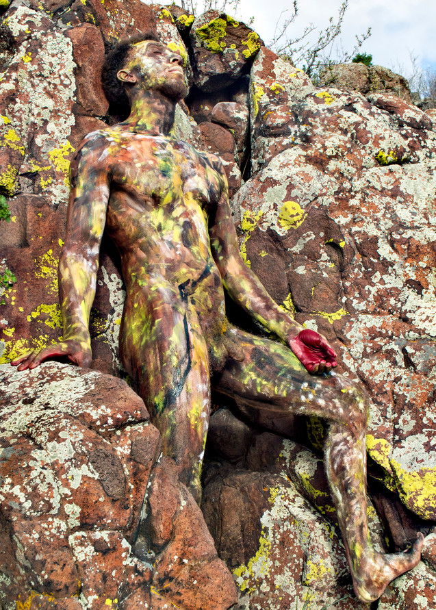 2019 Lichen Stone Colorado Art   BODYPAINTOGRAPHY