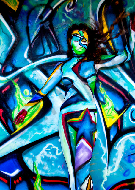 2010 Wakeboarding Stadium Graffiti Florida Art | BODYPAINTOGRAPHY