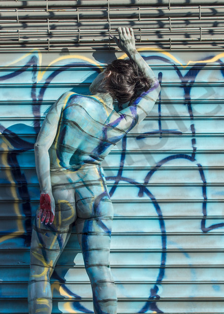 2017  Rip Grafitti  New York Art   BODYPAINTOGRAPHY