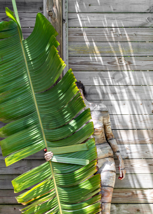 2017  Palm Leaf  Florida Art | BODYPAINTOGRAPHY