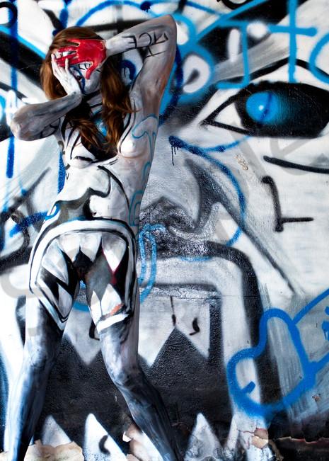 2013 Bitch Graffiti Florida Art | BODYPAINTOGRAPHY