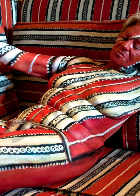 2012  Arabian Cushions Art | BODYPAINTOGRAPHY