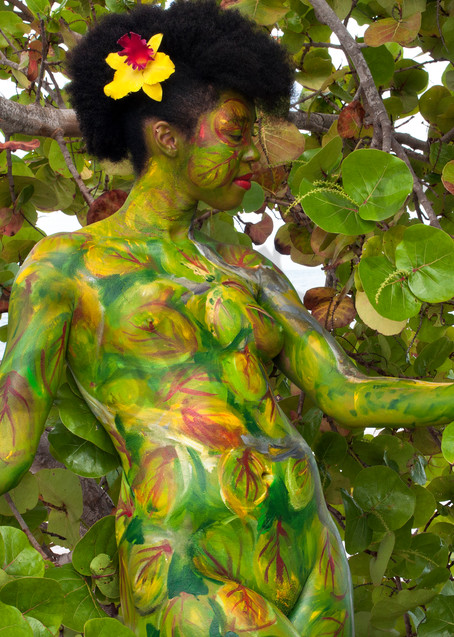 2012  Sea Grape Tree  Florida Art | BODYPAINTOGRAPHY