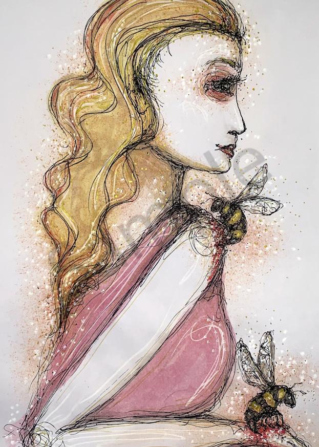 Queen Bee Art   Atelje Rose