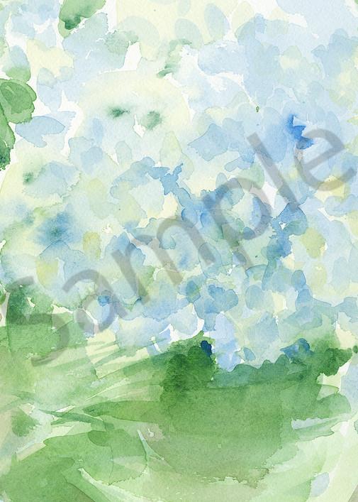 Bowl Of Hydrangeas Art   Nancy Reyna Fine Art