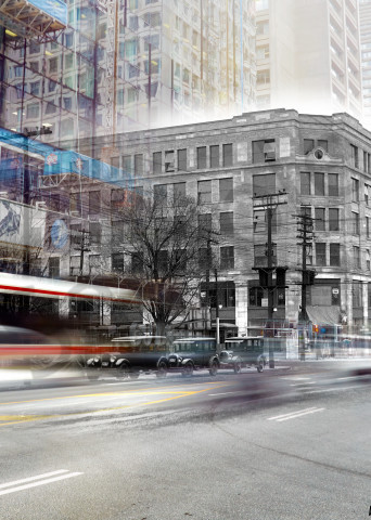 Past Present - The Bloor Building