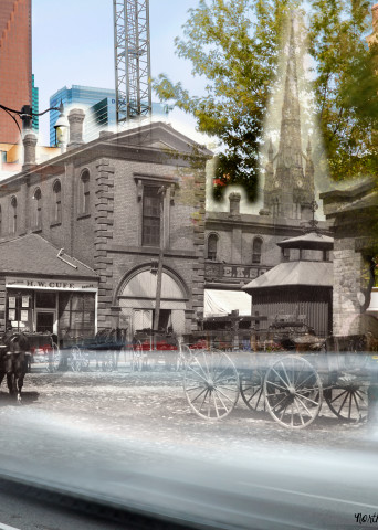 Past Present - The Market Block