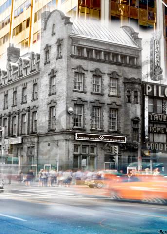 Past Present - Northwest Bloor & Yonge