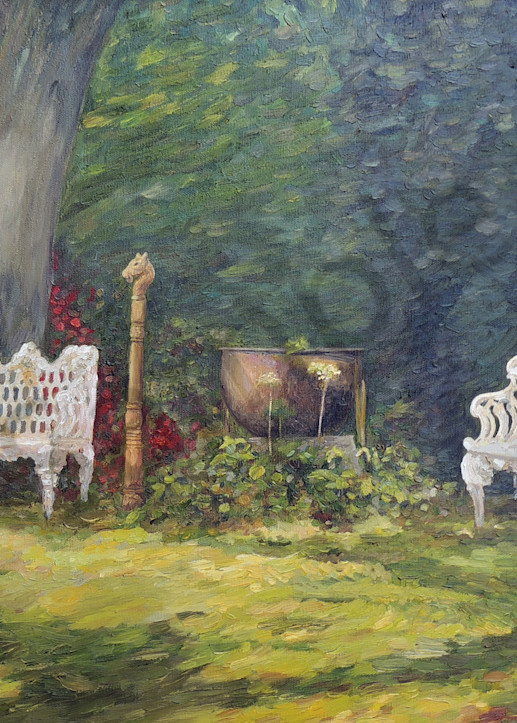 """""""A Resting Place"""" by Louisiana Artist Camille Barnes 