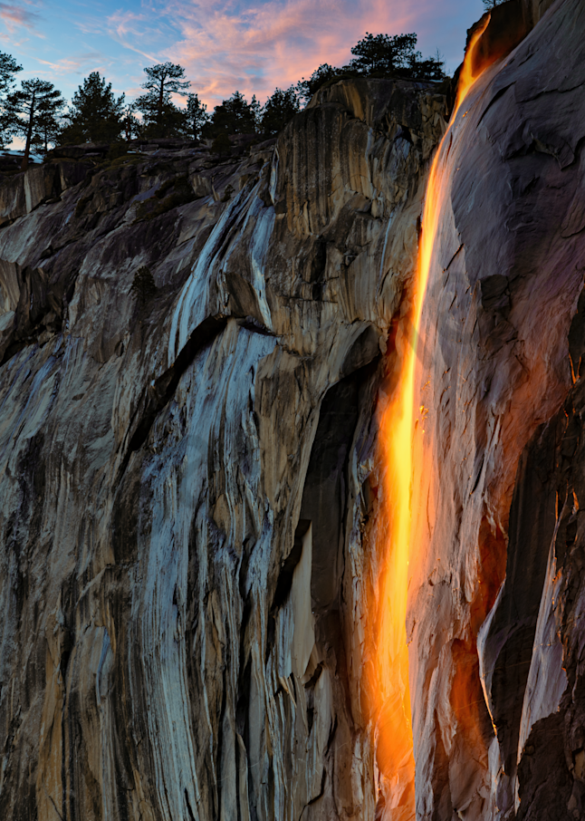 Print Art Yosemite National Park California Lava Flow