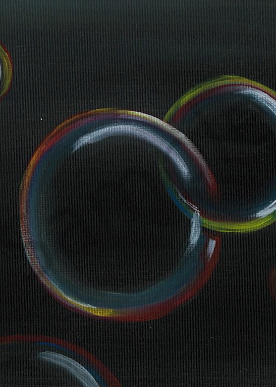 Bubble Infinity Acrylic Artwork