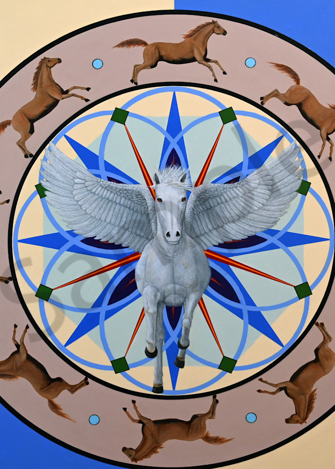 Trozzo-Horse-Mandala