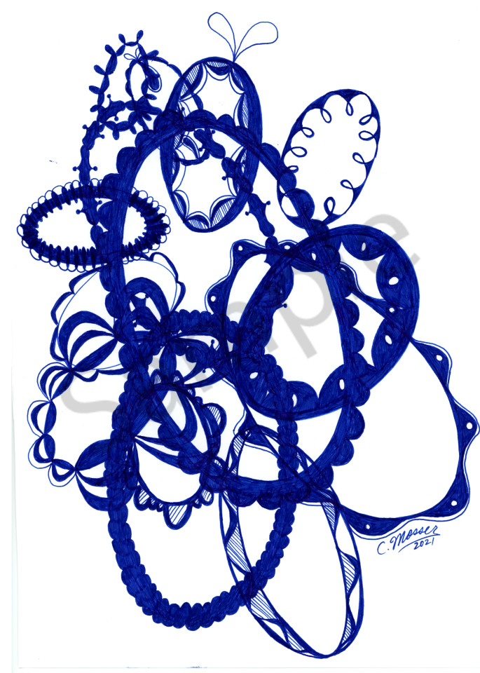 Overlapping Doilies 5