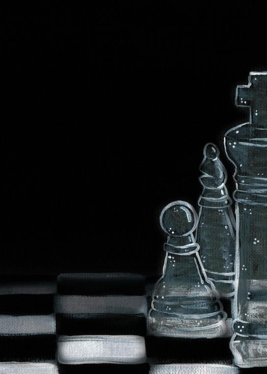 Glass Game Acrylic Artwork