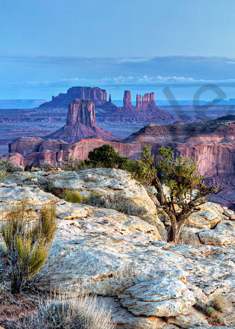 0708 Hunts Mesa Sunrise  Art | Cunningham Gallery