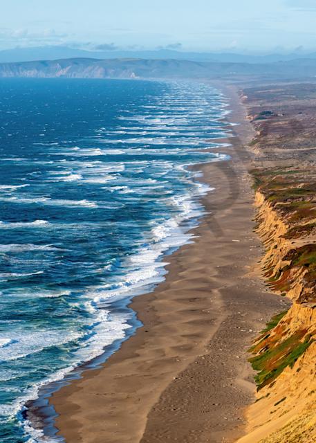Print Art Point Reyes National Seashore California Point Reyes Coastline