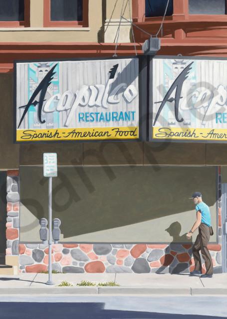 I Walk Alone thru Shadows of Our Past   Acapulco Restaurant