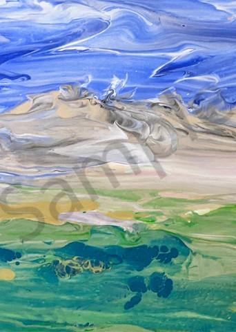 Fluid Landscape No 1