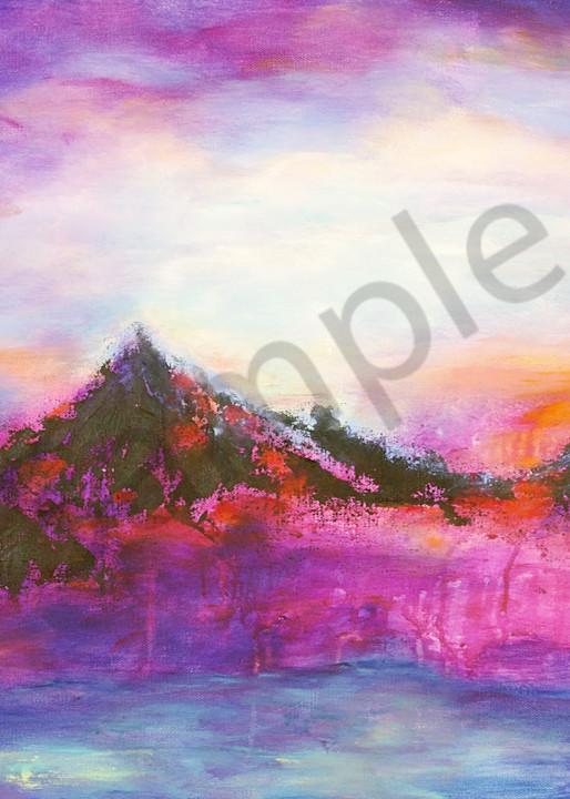 """Crimson Glory"" New Mexico Artist by Jan Atencio | Prophetics Gallery"
