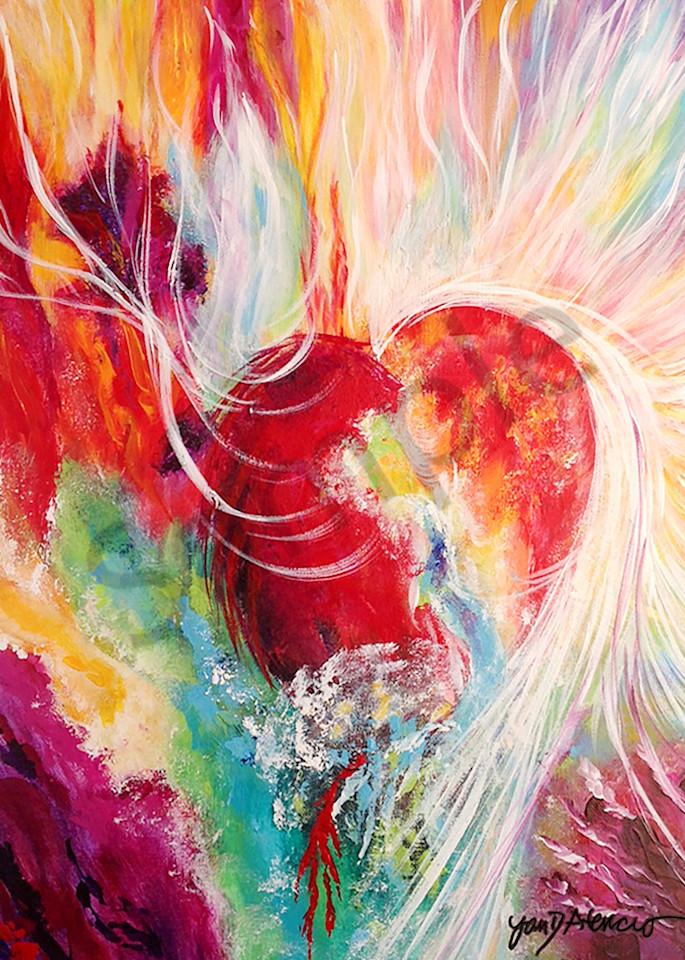 """""""Alabaster Heart"""" by New Mexico Artist Jan Atencio   Prophetics Gallery"""