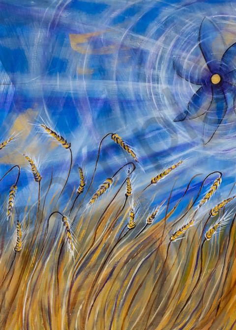 """Windmill"" by German Artist Angela Günther | Prophetics Gallery"