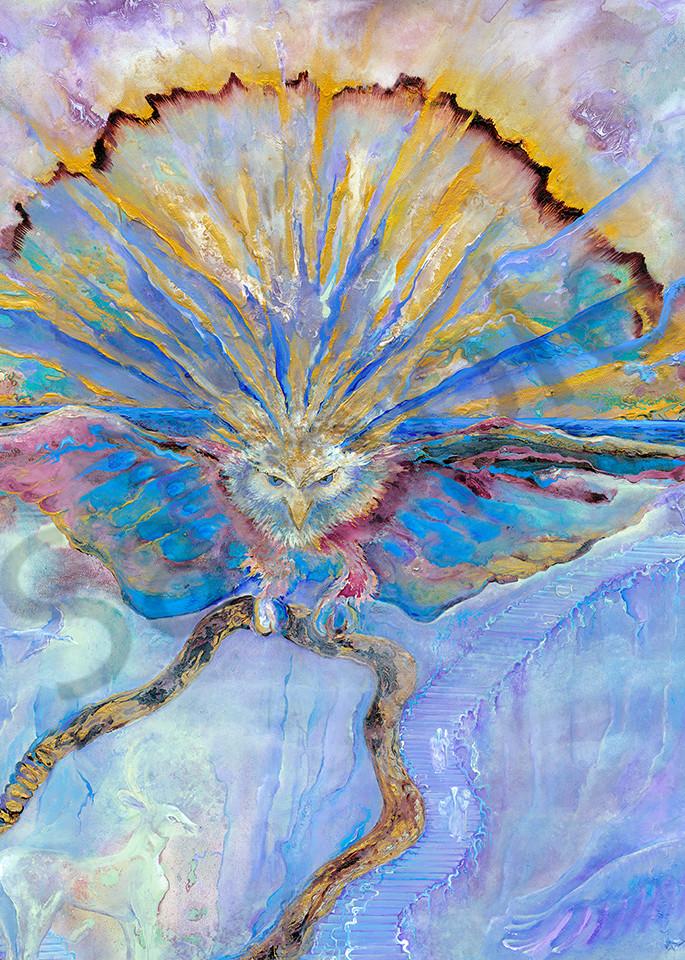 Sun Eagle Fly