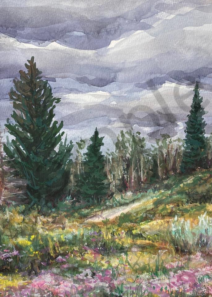 "Fine Art Print ""Alpine Meadow"""