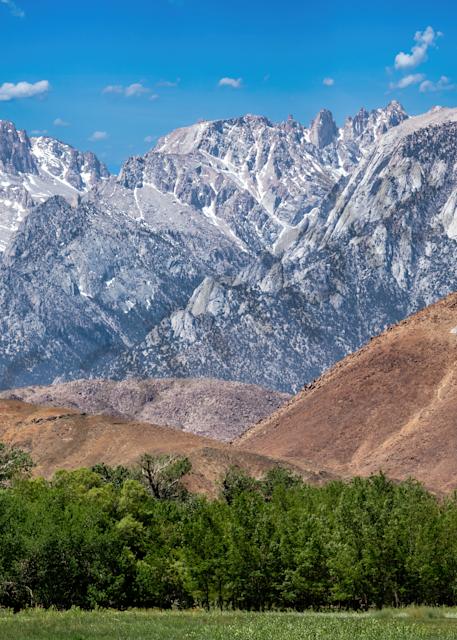 Print Art Lone Pine California Eastern Sierra