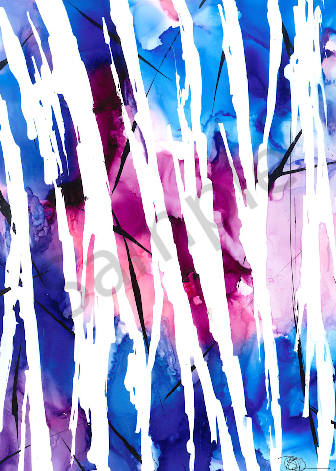 masked, blue, purple, pink, red, white