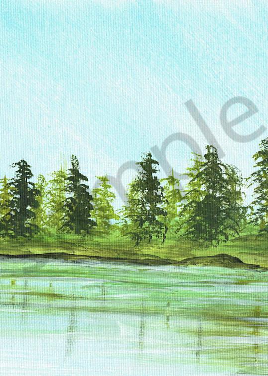 Forest Reflection Fine Art Prints