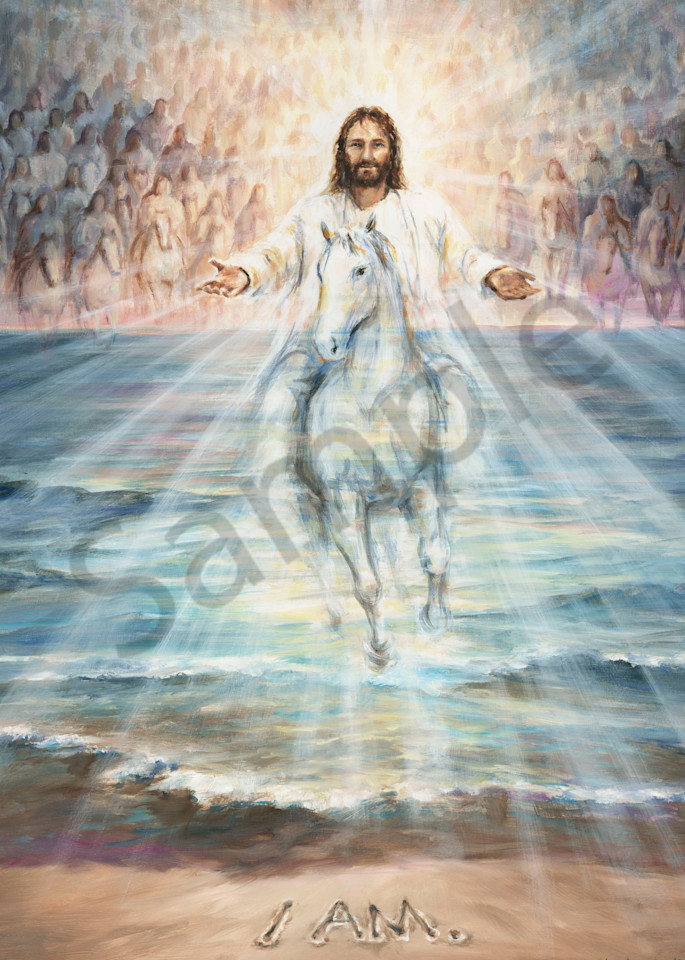 """I AM Returns"" by Canadian Prophetic Artist Melani Pyke   Prophetics Gallery"