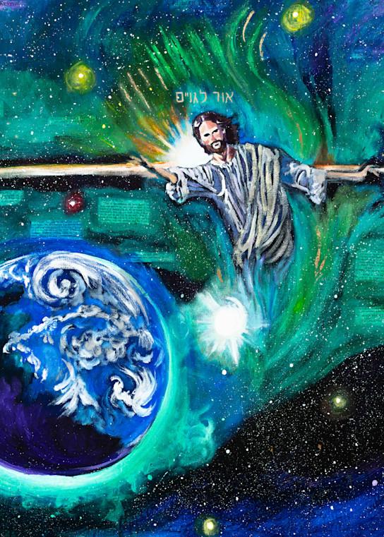 """Light Of The Nations"" by Arizona Prophetic Artist Heidi Ngai | Prophetics Gallery"