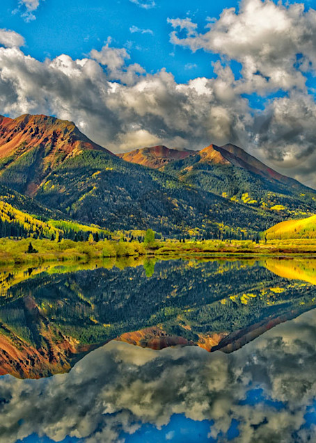 """""""Red Mountain Pond"""" fine art photo by Fred Neveu,"""
