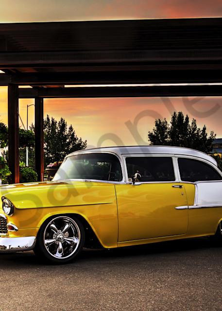 55 Chevy Photography Art | Christensen Photography