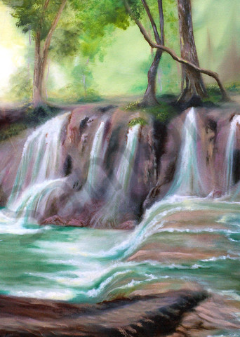 """""""Living Waters"""" by Canadian Prophetics Artist Jeanette Sthamann   Prophetics Gallery"""