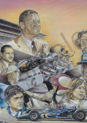 2020 Indianapolis 500 Cover Art