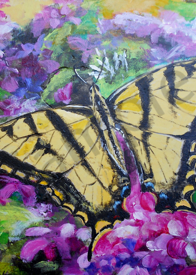 """""""Yellow Swallowtail"""" by Indiana Prophetic Artist Gina Harding   Prophetics Gallery"""