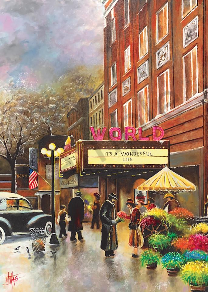 """World Theater"" by Nebraska Prophetic Artist Jeff Montag   Prophetics Gallery"