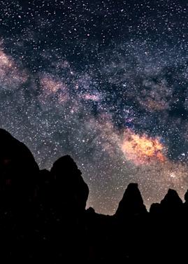Print Art Trona California Milky Way